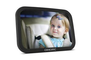 Avis et Test miroir bébé OMORC 360°